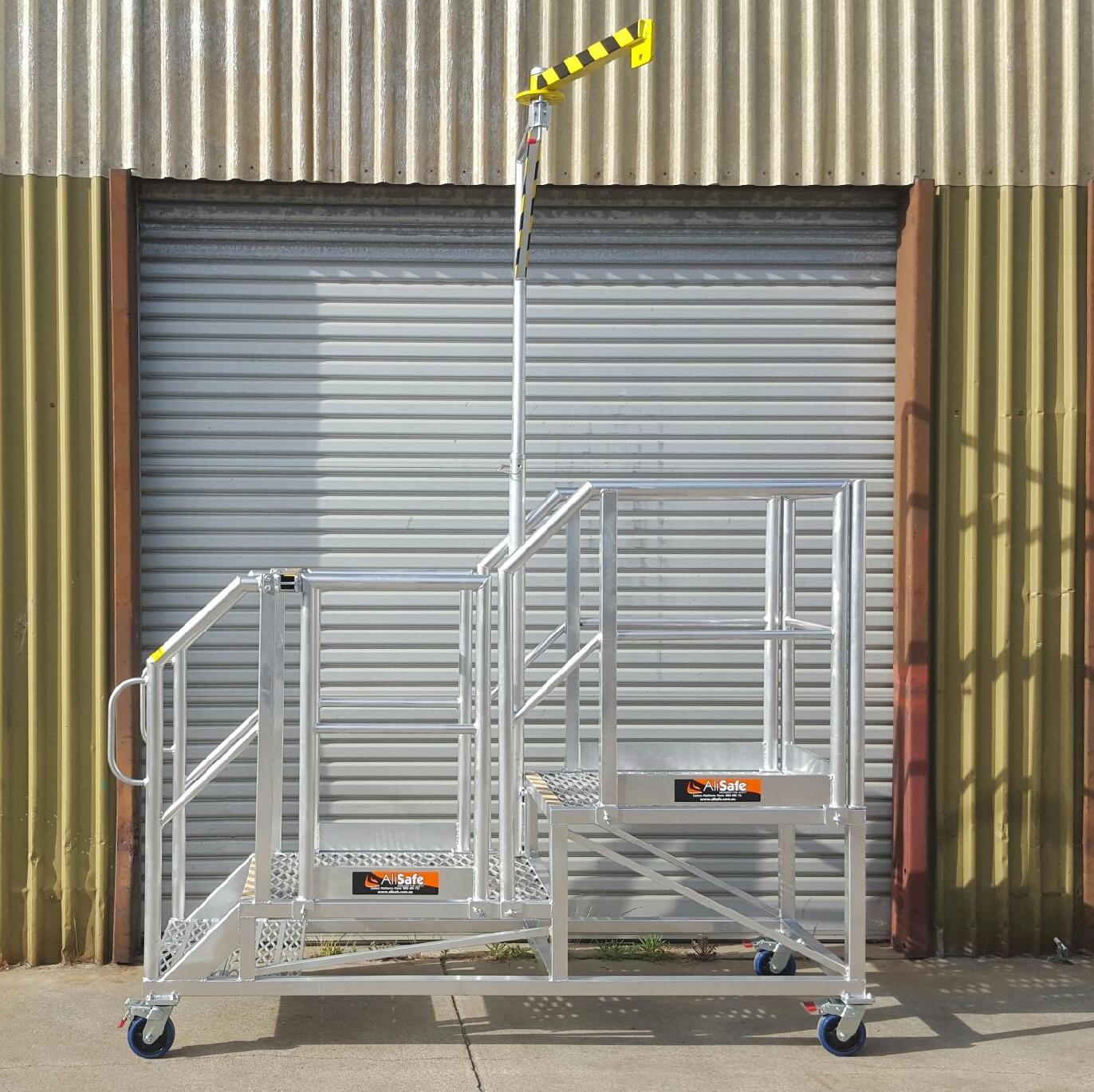 aluminium access platform