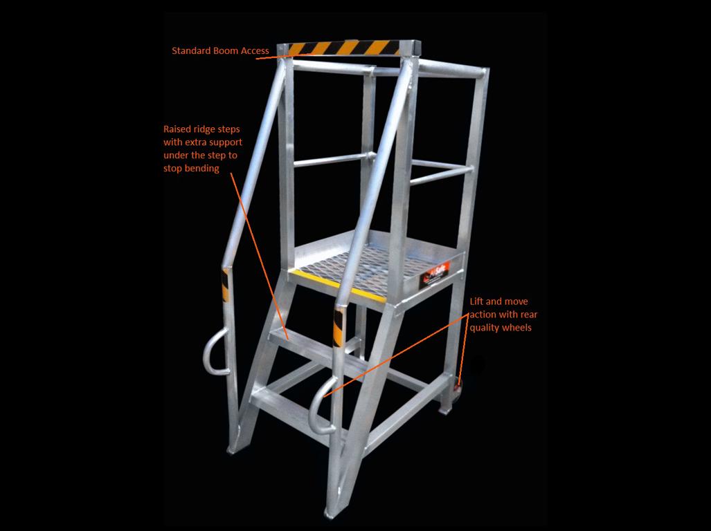 Custom Aluminium Access Platform